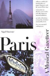 Paris--A Musical Gazetteer - Nigel Simeone - cover