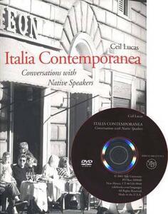 Italia Contemporanea: Conversations with Native Speakers - Ceil Lucas - cover