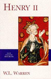 Henry II - W. L. Warren - cover