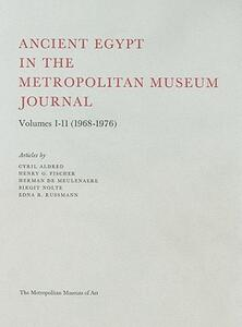 Ancient Egypt in the Metropolitan Museum Journal - Cyril Aldred - cover