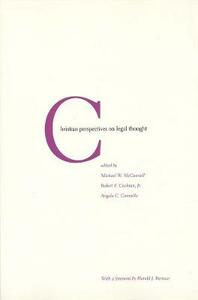 Christian Perspectives on Legal Thought - cover