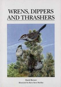 Wrens, Dippers and Thrashers - David Brewer - cover