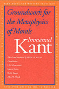 Groundwork for the Metaphysics of Morals - Immanuel Kant - cover