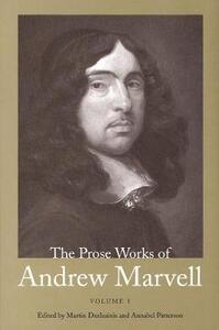 Prose Works of Andrew Marvell: Volume 1, 1672-1673 - Andrew Marvell - cover