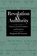 Libro in inglese Revelation and Authority: Sinai in Jewish Scripture and Tradition Benjamin D. Sommer