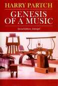 Libro in inglese Genesis of a Music: An Account of a Creative Work, its Roots, and its Fulfillments Harry Partch