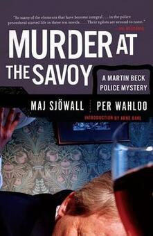 Murder at the Savoy - Maj Sjowall,Per Wahloo - cover