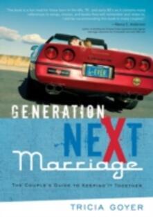 Generation NeXt Marriage