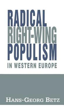 Radical Right-Wing Populism in Western Europe - Hans-Georg Betz - cover