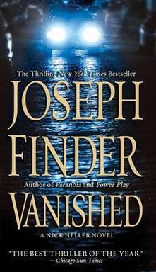 Vanished: A Nick Heller Novel - Joseph Finder - cover