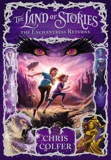 The Enchantress Returns - Chris Colfer - cover