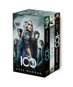 Libro in inglese The 100 Boxed Set  - Kass Morgan