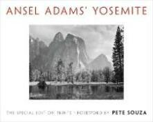 Ansel Adams' Yosemite: The Special Edition Prints - Ansel Adams - cover