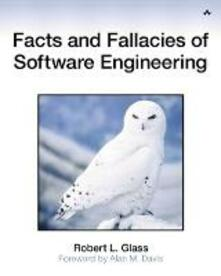 Facts and Fallacies of Software Engineering - Paul Becker,Robert Glass - cover