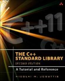 C++ Standard Library, The: A Tutorial and Reference - Nicolai Josuttis - cover