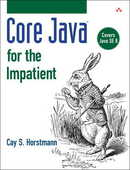 Libro in inglese Core Java for the Impatient Cay S. Horstmann