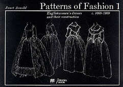 Libro in inglese Patterns of Fashion: 1660-1860 Janet Arnold
