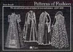Libro in inglese Patterns of Fashion: c1560-1620 Janet Arnold