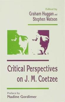 Critical Perspectives on J. M. Coetzee - cover