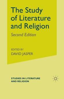 Study of Literature and Religion - David Jasper - cover