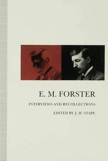 E. M. Forster - cover
