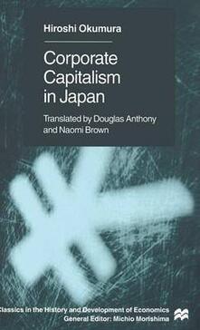 Corporate Capitslism in Japan - Hiroshi Okumura - cover