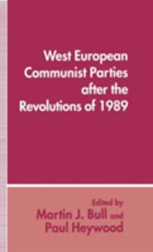 West European Communist Parties after the Revolutions of 1989 - cover