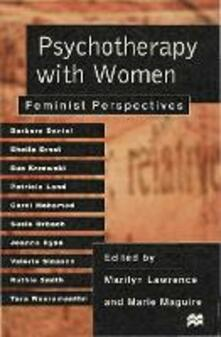 Psychotherapy with Women: Feminist Perspectives - Marilyn Lawrence,Marie Maguire - cover