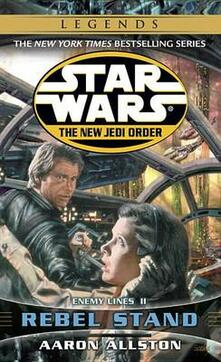 Star Wars: The New Jedi Order - Enemy Lines - Rebel Stand - Aaron Allston - cover