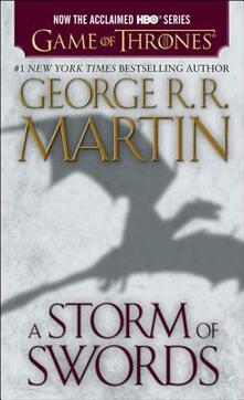 A Storm of Swords (HBO Tie-in Edition): A Song of Ice and Fire: Book Three - George R. R. Martin - cover