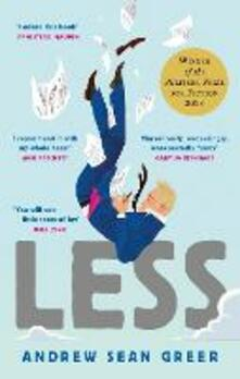 Less: Winner of the Pulitzer Prize for Fiction 2018 - Andrew Sean Greer - cover