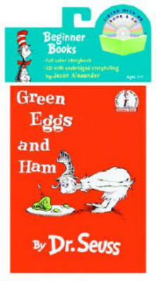 Green Eggs and Ham Book & CD - Dr Seuss - cover
