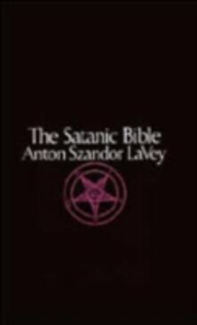 Satanic Bible - Anton Szandor LaVey - cover