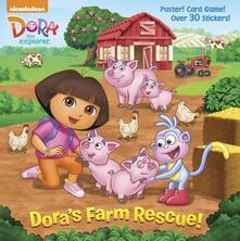 Dora's Farm Rescue! - Random House - cover