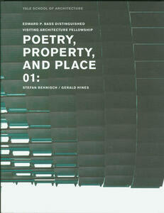 Poetry property and place. Vol. 1 - Nina Rappaport - copertina