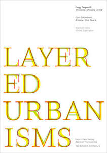 Layered urbanisms - Nina Rappaport - copertina