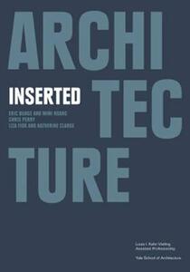 Architecture inserted - Francisco Waltersorfer - copertina