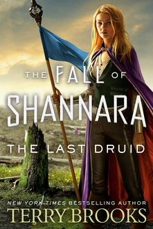 The Last Druid - Terry Brooks - cover