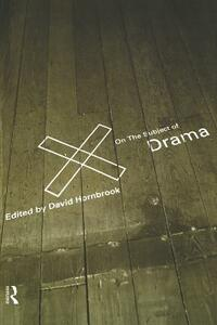 On the Subject of Drama - cover