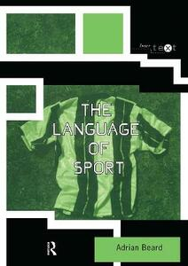 The Language of Sport - Adrian Beard - cover
