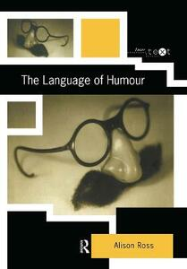 The Language of Humour - Alison Ross - cover