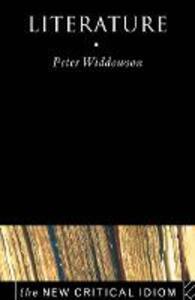 Literature - Peter Widdowson - cover