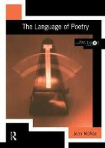 The Language of Poetry - John McRae - cover