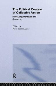 The Political Context of Collective Action - cover