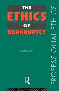 The Ethics of Bankruptcy - Jukka Kilpi - cover