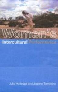 Women's Intercultural Performance - Julie Holledge,Joanne Tompkins - cover