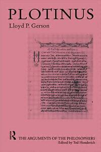 Plotinus-Arg Philosophers - Lloyd P. Gerson - cover