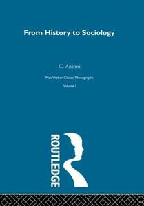 From Hist To Sociology      V1 - cover
