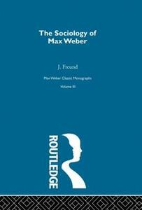Sociology Max Weber        V 3 - cover