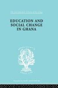 Educ & Soc Change Ghana Ils 60 - cover